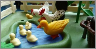 Family Rooms Playmobil Ducks