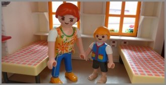 Family Rooms Playmobil Figures