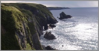 Ty Pobty, Sea Cliffs